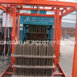 Qt4-16 enclenchant le bloc de la colle de moulages de blocs concrets faisant la machine