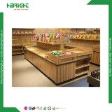 Stockage de supermarchés de fruits et légumes étagère d'affichage