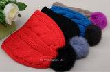 有機性最近冬のニットの帽子の帽子