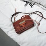 Manier Zak van het Leer van de Handtas Pu van het Ontwerp van Dame Handbag Women Bag Shoulder Zak 2018 de Nieuwe (WDL0464)