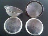 Cesta do filtro de Infuser do chá do engranzamento de fio do aço inoxidável