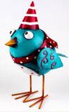 Preço de fábrica de metais coloridos Figurine Animal Bird
