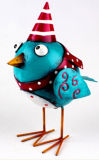 Manufactory Price Colorful Metal Animal Figurine Bird