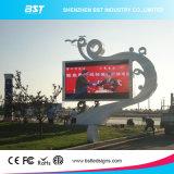 2500dots LED Bst alta resolución P6 digital al aire libre de la cartelera / Pantalla LED para publicidad Metros