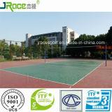 De UV Sporten die van het Hof van het Volleyball van de Weerstand voor Gebruikt Openlucht vloeren