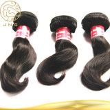 Wirkliche preiswerte Großhandelsjungfrau-nasses und wellenförmiges Remy Haar