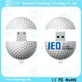 Azionamento su ordinazione dell'istantaneo del USB di figura della sfera di golf con il marchio (ZYF5001)