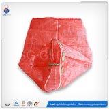 Saco de malhagem PP vermelho durável para atiçar novamente Material