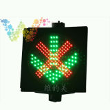 Station de péage Croix-Rouge Green Arrow Traffic Signal de signalisation LED