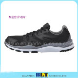 Zapatos corrientes atléticos negros del estilo de Blt