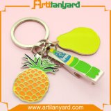 Esmalte suave colorido del regalo promocional con el metal de encargo Keychains