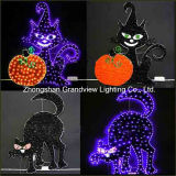 2D Cat Design Halloween Decoration