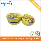 カスタム円形のボール紙の印刷のギフト用の箱(QYZ016)