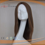 Brown Remy Hair Mulheres Peruca sem golpes (PPG-l-01841)