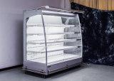 Fruta y verdura de la visualización del refrigerador del refrigerador de aire de la Multi-Cubierta