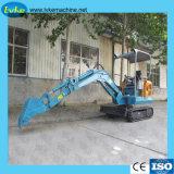 Escavatore idraulico mini di vendita caldo del cingolo con il baldacchino o la baracca