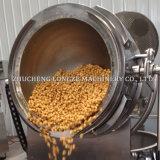 Empresa Longze Indução elétrico automático máquina de fazer pipoca de caramelo de forma esférica Popcorns