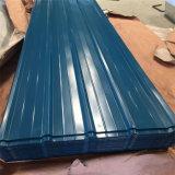Toiture Aluzinc enduit d'une première couche de peinture par feuille /Galvanized couvrant la feuille