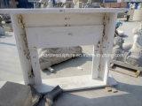Чистые руки белого цвета из резного мраморный камин (Си-MF232)