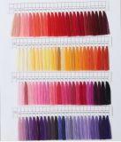 La couleur personnalisée par amorçage de couture de tissu de textile Faisceau-Tournée par polyester 100% reçoivent