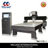 Macchina per incidere di alluminio acrilica di CNC del rame