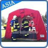 Tenda gonfiabile durevole di rilievo, Inflatablered Crosstent, tenda gonfiabile di disastro