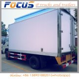 5t Insulated Reefer Frozen Refrigerated Truck with Sanwich Panel Box clouded