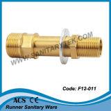 Messing flanschte Verbinder für Hydrauliktank (F12-011)
