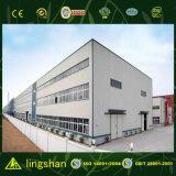 Bajo costo de varios pisos de diseño de la construcción de almacén de bastidor de acero