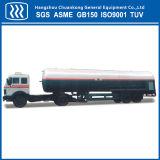 De horizontale Chemische Vloeibare Semi Aanhangwagen van de Tanker van het LNG