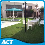 Base sintetica verde oliva della sabbia dell'erba per uso commerciale del giardino