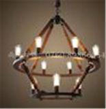 Lámpara pendiente decorativa con la cuerda para el hogar o el hotel
