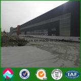 Taller de prefabricados de estructura de acero con grúa