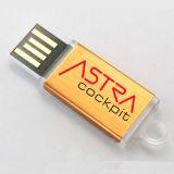 Mini USB tipo chave USB de alumínio barato USB impermeável