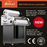 F650 grafischer Größen-heißer Rollenkalter Beutel-Film-lamellierende Papiermaschine des System-650mm A3 A4