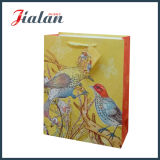 Animal Design Custom Printed Laminated Wholesales Paper Bag com Hangtags