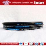 Tianyi Qualitäts-hydraulischer Gummischlauch R2 2sn