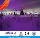 Plus nouvelle tente de mariage avec doublure de décoration, plafond, rideau