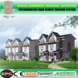 Preiswertes modernes galvanisiertes Stahlkonstruktion-vorfabriziertes modulares Haus-vorfabrizierthaus