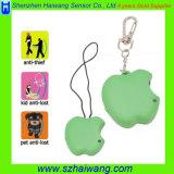Appelvormig Apparaat hw-170 van het Alarm van Keychain van Kinderen Anti Verloren