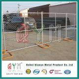 PVC上塗を施してあるカナダ一時塀の群集整理のバリケード