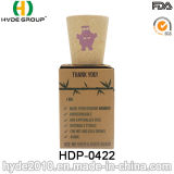 Tazza di bambù organica biodegradabile all'ingrosso della fibra (HDP-0422)