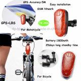 Fahrrad/Motorrad wasserdichter GPS-Verfolger mit Li-Ion1800mah batterie Tk-906