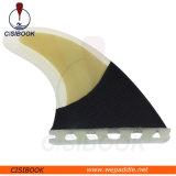 Größen-Surfbrett-Flossen des Leistungs-Kern-Bambusfurnier-blattund Kohlenstoff-Faser-Druckgeber-(Flosse 4 eingestellt) zukünftige der Unterseiten-G5