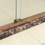 Рамка влияния серебра приложения раздвижных дверей дверь ливня 1400~1500 mm