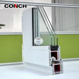 محارة 60 بابية نافذة PVC / UPVC الملف الشخصي