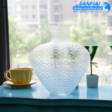 Самая лучшая продавая оптовая ясная стеклянная ваза для дома