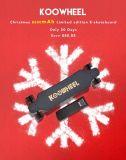Bestes verkaufenweihnachtsgeschenk Koowheel langer Vorstand-elektrisches Skateboard