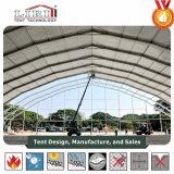 grandes structures en aluminium de 6m pour les tentes provisoires d'entrepôt 30-50m