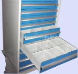 معدن تخزين جهاز أداة قاعدة قفص صدر خزانة